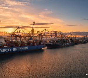 Las terminales de Cosco en España crecen a doble dígito hasta junio