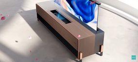 Hisense presenta el primer Láser TV con pantalla enrollable