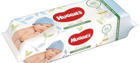 'Huggies' presenta su última innovación: Toallitas naturales biodegradables sin plástico