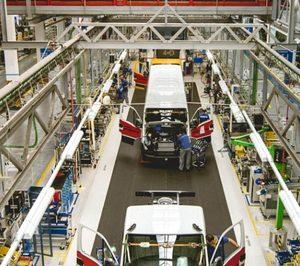La venta de vehículos industriales vuelve a descender a doble dígito en septiembre