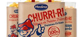 Apex compra el negocio de patatas y snacks de Medina y reestructura parte de su operativa fabril