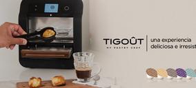 Tigout, un sistema de pastelería en cápsulas