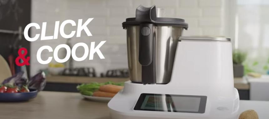 Moulinex: nuevo robot de cocina Click & Cook ¿o Click & Cool?