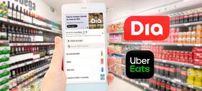 DIA se alía con Uber Eats para extender su servicio de venta online