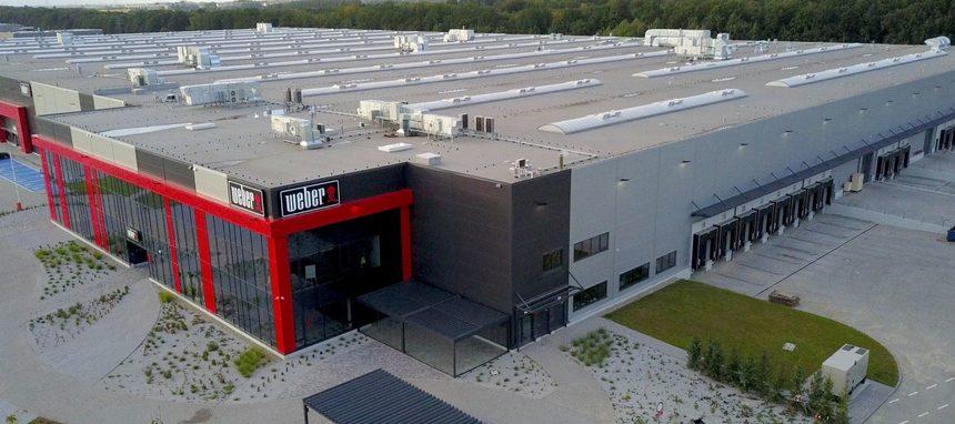 Weber inaugura su primera fábrica en Europa y fuera de EEUU