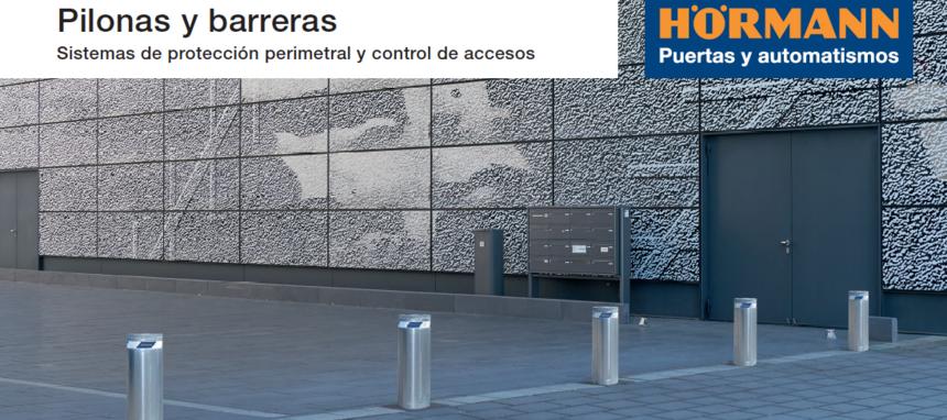 Hörmann lanza su nueva gama de bolardos automáticos Security