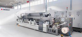 Bobst concentra en su Centro de Florencia su tecnología de impresión de etiquetas