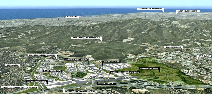 Cerdanyola prepara el desarrollo de más de 5.700 viviendas