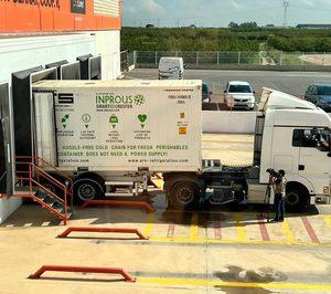 Anecoop prueba una nueva solución de transporte hortofrutícola con el envío de 7.000 kg de kakis a París