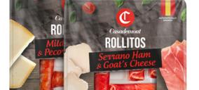 Casademont ahonda en el concepto snacking con una nueva gama de rollitos