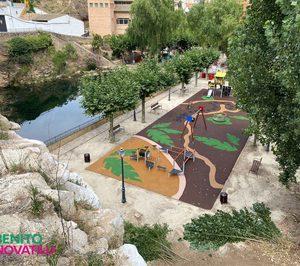 El Grupo Benito Novatilu construye parque infantil en Zaragoza