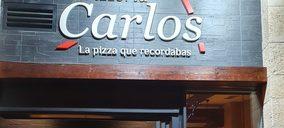 Pizzerías Carlos terminará 2021 con unos 70 locales