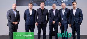 Wilo y Schneider Electric ofrecerán soluciones de eficiencia energética para infraestructuras
