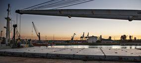 La constructora Heliopol quiere centrar toda su logística en el puerto de Sevilla