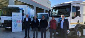 Plusfresc, pionero en Cataluña con la incorporación de un camión eléctrico para el reparto