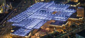 Flexbrick viste la fachada principal del Opportunity Pavilion en Dubái