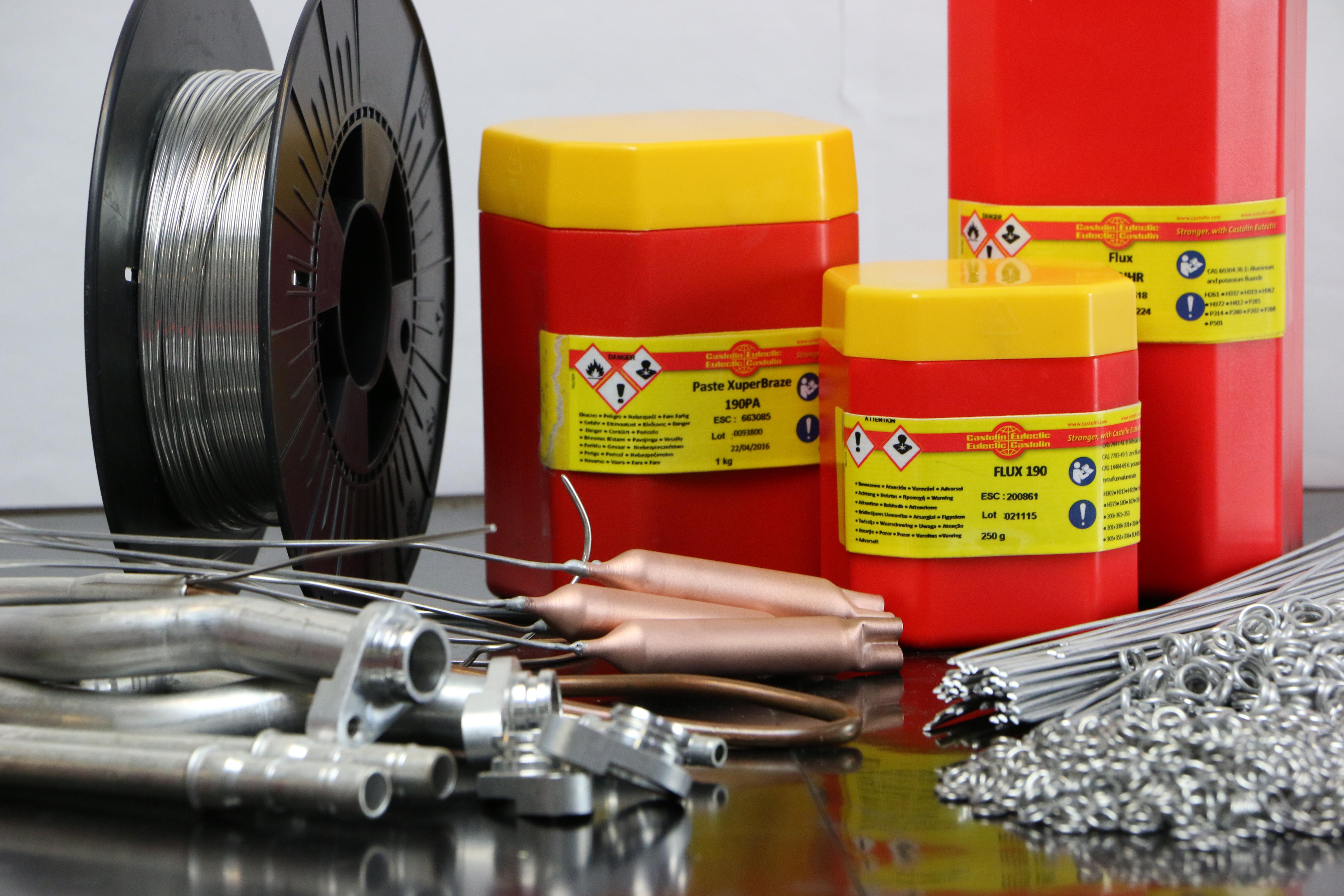 """Nueva gama """"mejorada"""" de aleaciones para aplicaciones de aluminio de Castolin Eutectic"""
