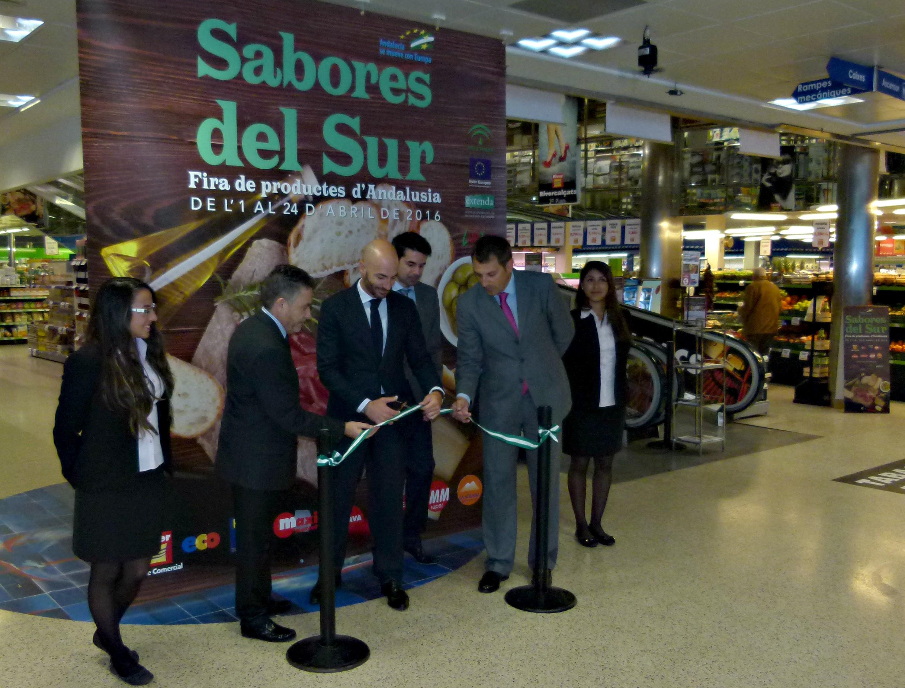 Lándaluz y EXTENDA organizan la promoción de 172 marcas de 39 empresas andaluzas en los centros Merca Center de Andorra