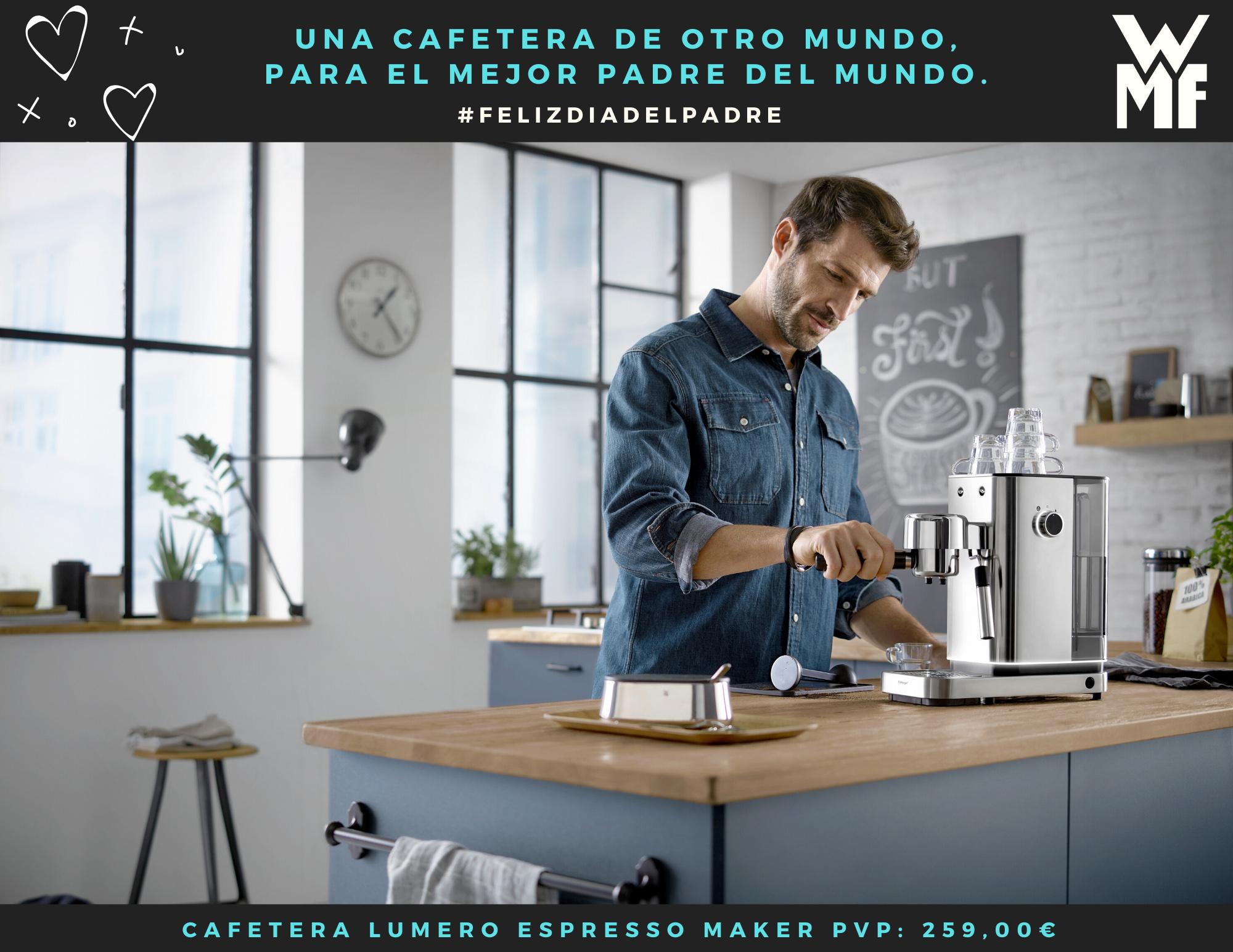 WMF propone su cafetera Lumero para el Día Del Padre