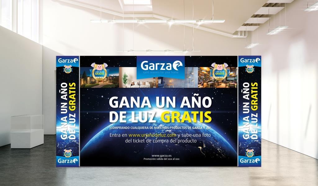 Garza pone en marcha una promoción de Un año de luz Gratis