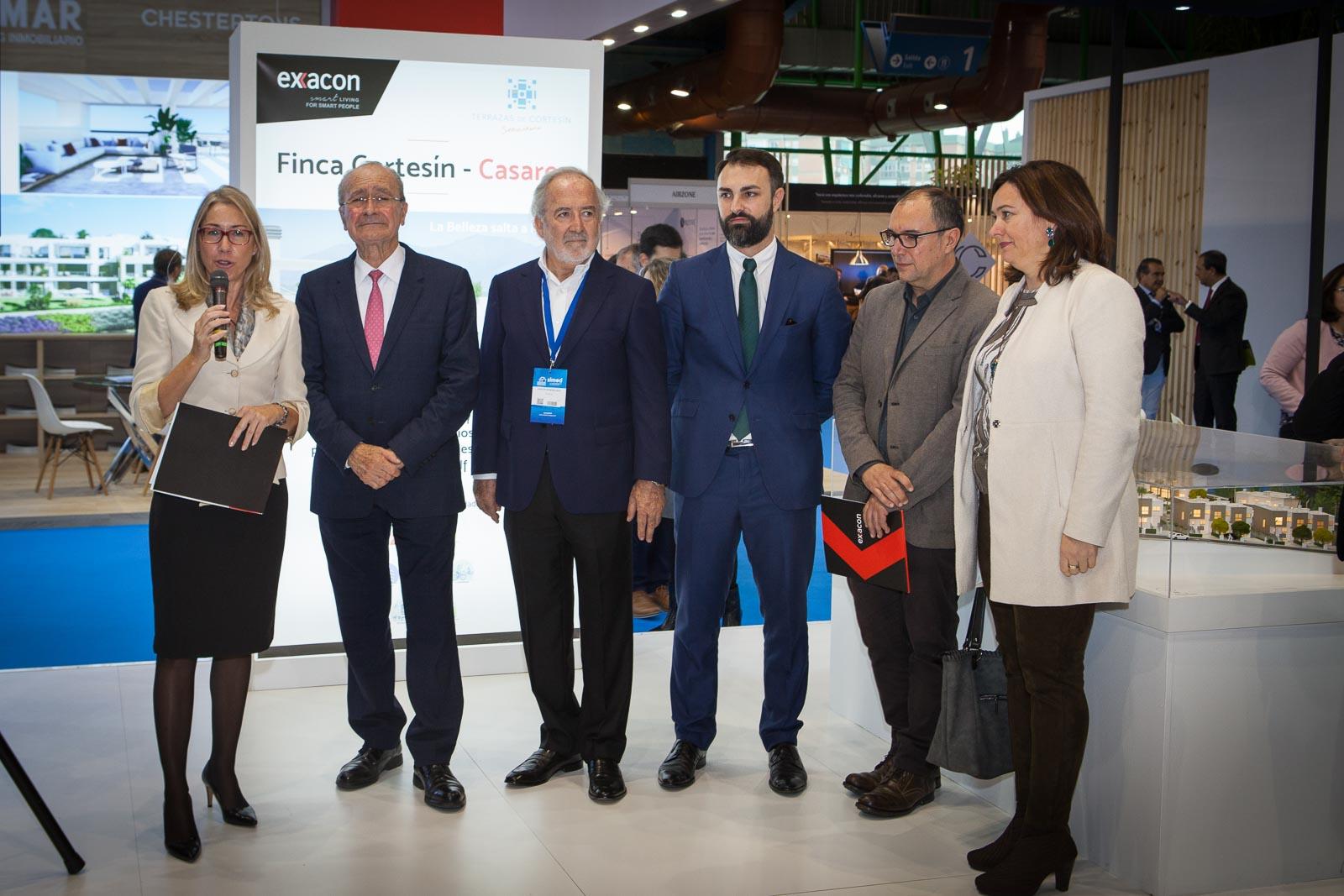 Promotora Exxacon premia al arte en Málaga durante el Simed