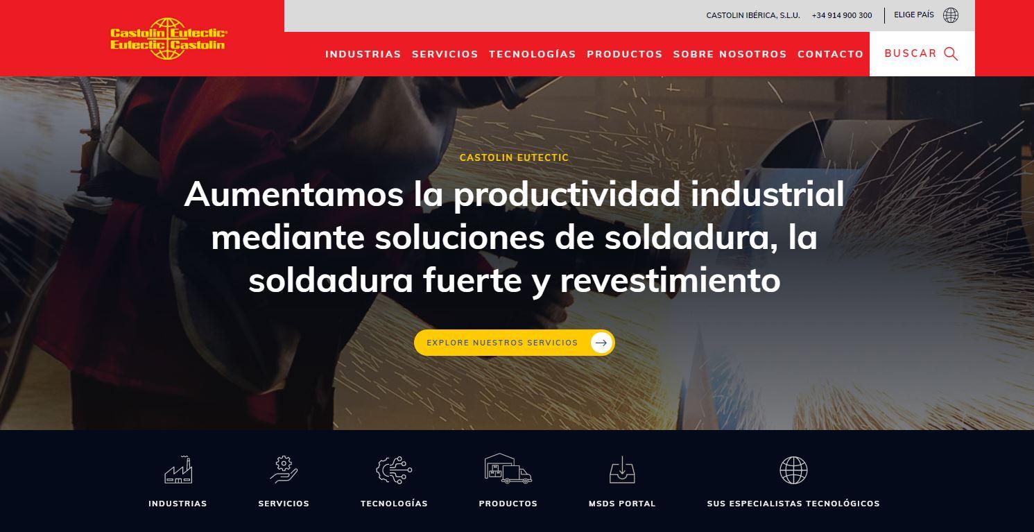 Nueva página web de Castolin