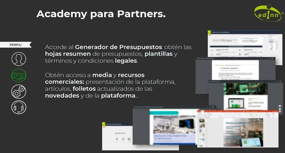 Edinn incentiva la red de partners